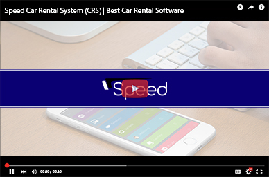 Speed Car Rental Software