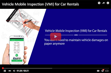 Vehicle Mobile Inspection (VMI) for Car Rentals